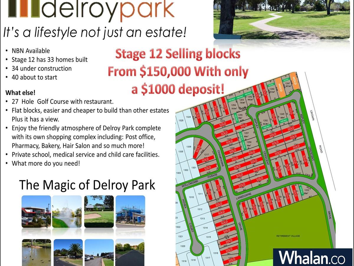 Photo of Stage 12, Delroy Park Dubbo, NSW 2830