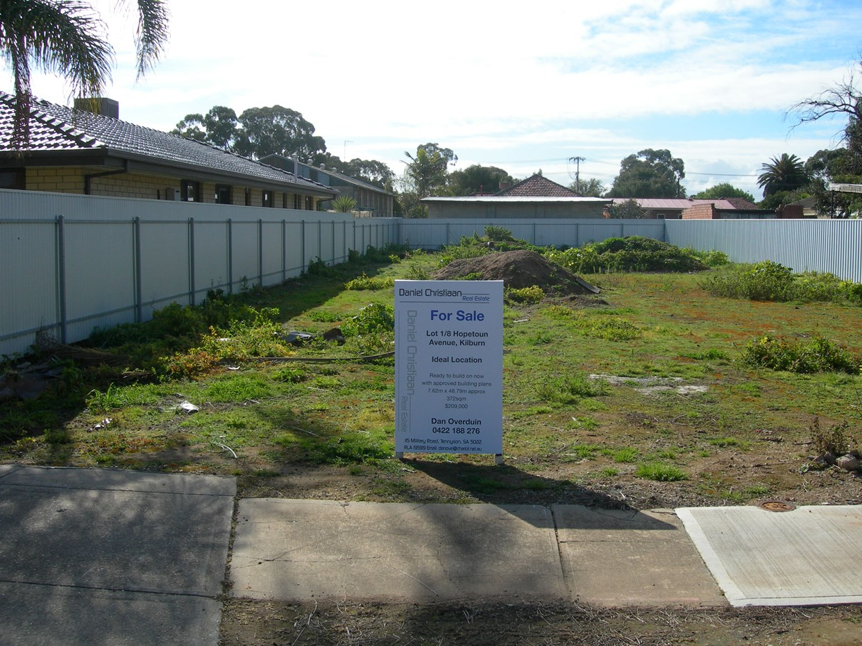 Photo of lot 1 /  8 Hopetoun Ave, Kilburn, SA 5084