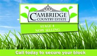 Picture of 00 Cambridge Country Estate STAGE 4 NOW SELLING, Cambridge