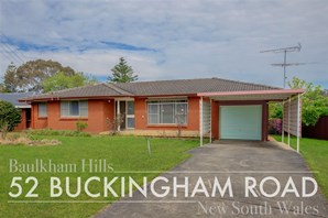 Picture of 52 Buckingham Road, Baulkham Hills
