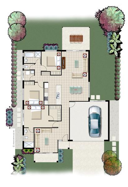 Floorplan for Darwin