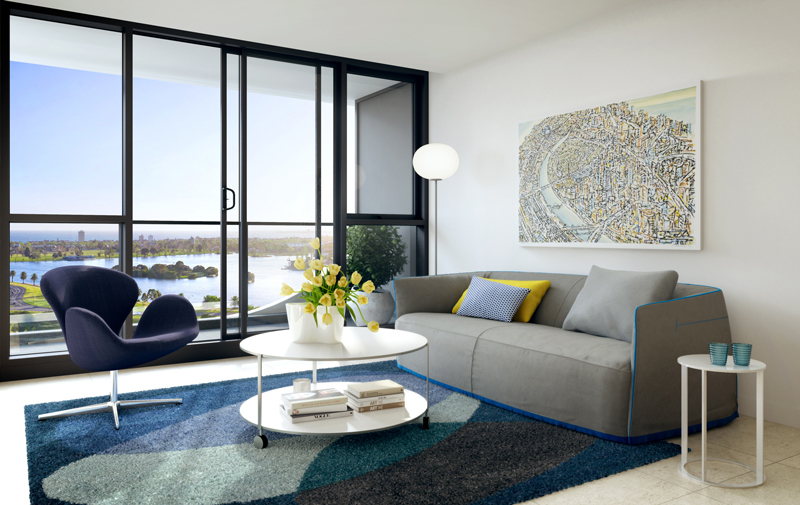Main photo of 6.11/12 Queens Road, Melbourne (3004) - More Details