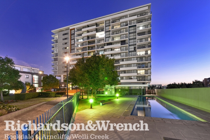 Picture of B1002/35 Arncliffe Street, Wolli Creek