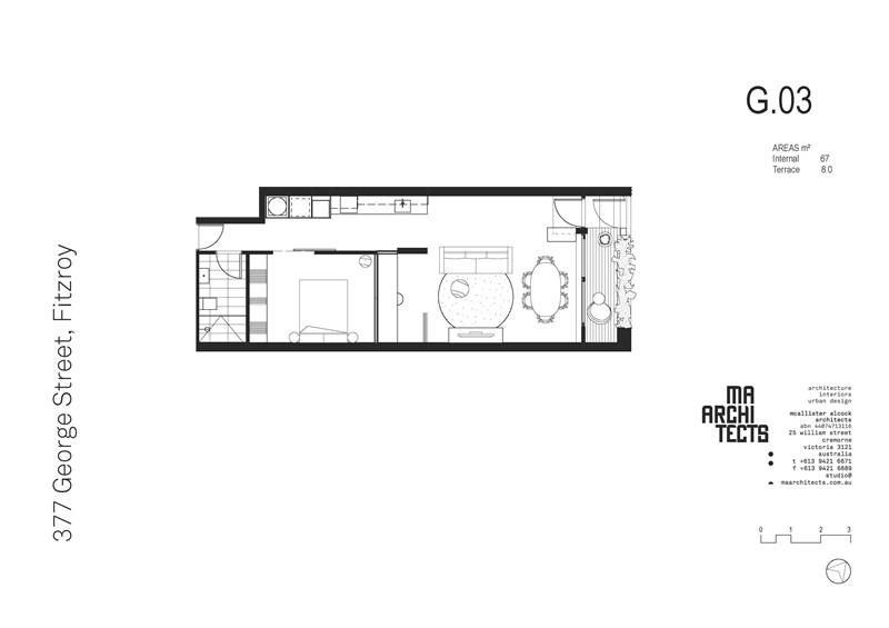 Floorplan for G03/377 George Street Fitzroy