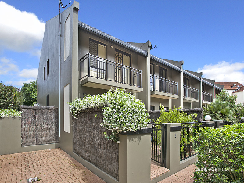 6/33 Collingwood Street, Drummoyne NSW 2047 - Sold Townhouse ...