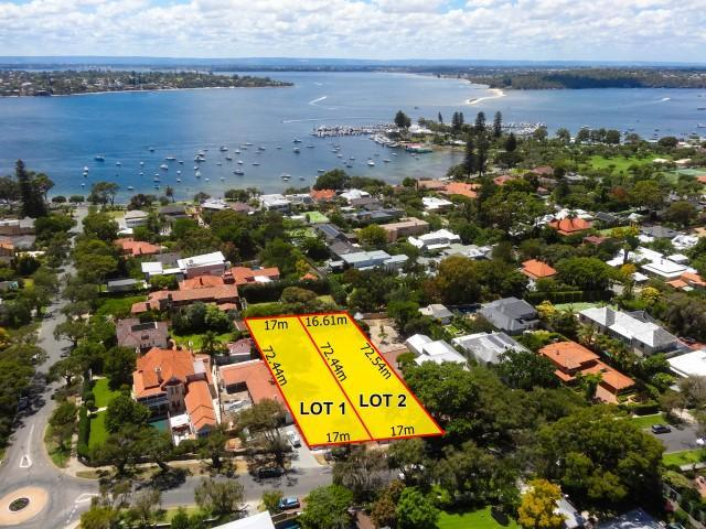 Building plot | 19 & 19A View Street, PEPPERMINT GROVE, WA 6011