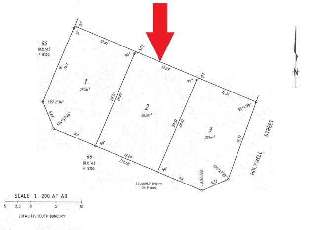 Building plot   6B Holywell, SOUTH BUNBURY, WA 6230 3