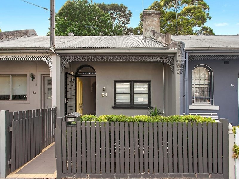 64 Rochford Street, Erskineville NSW 2043 - House for Rent - 9507156