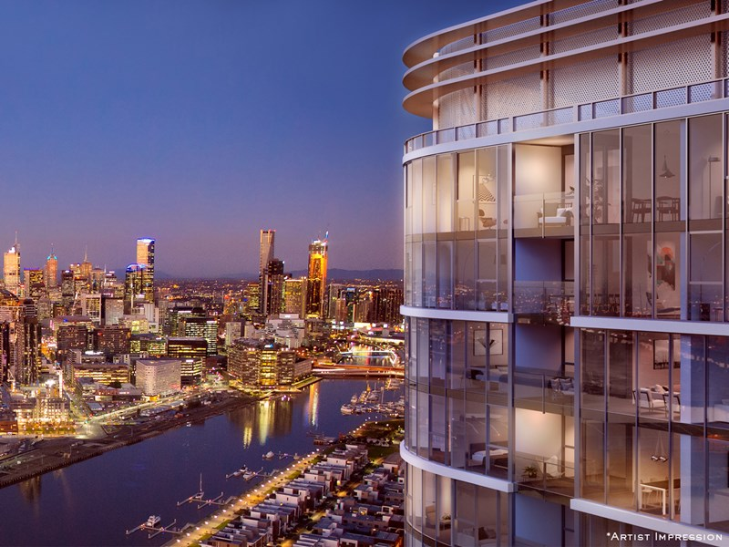 Main photo of 2302/81 South Wharf Drive, Docklands - More Details