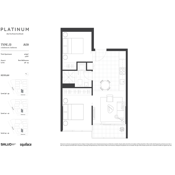 Floorplan for Platinum