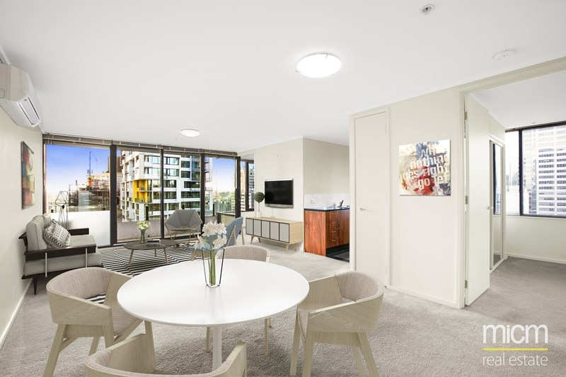 Picture of 2309/668 Bourke Street, Melbourne