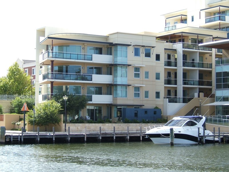Picture of 8/1 Henry Lawson Walk, East Perth