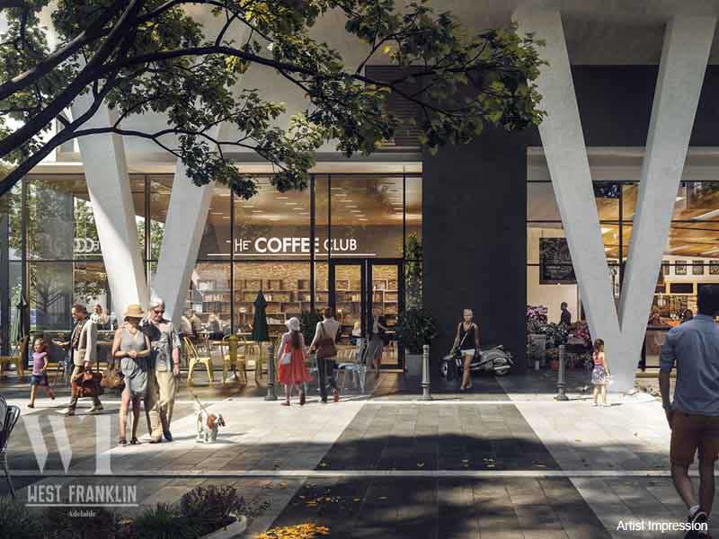 West Franklin, 142-150 Franklin Street , Adelaide, Image 1