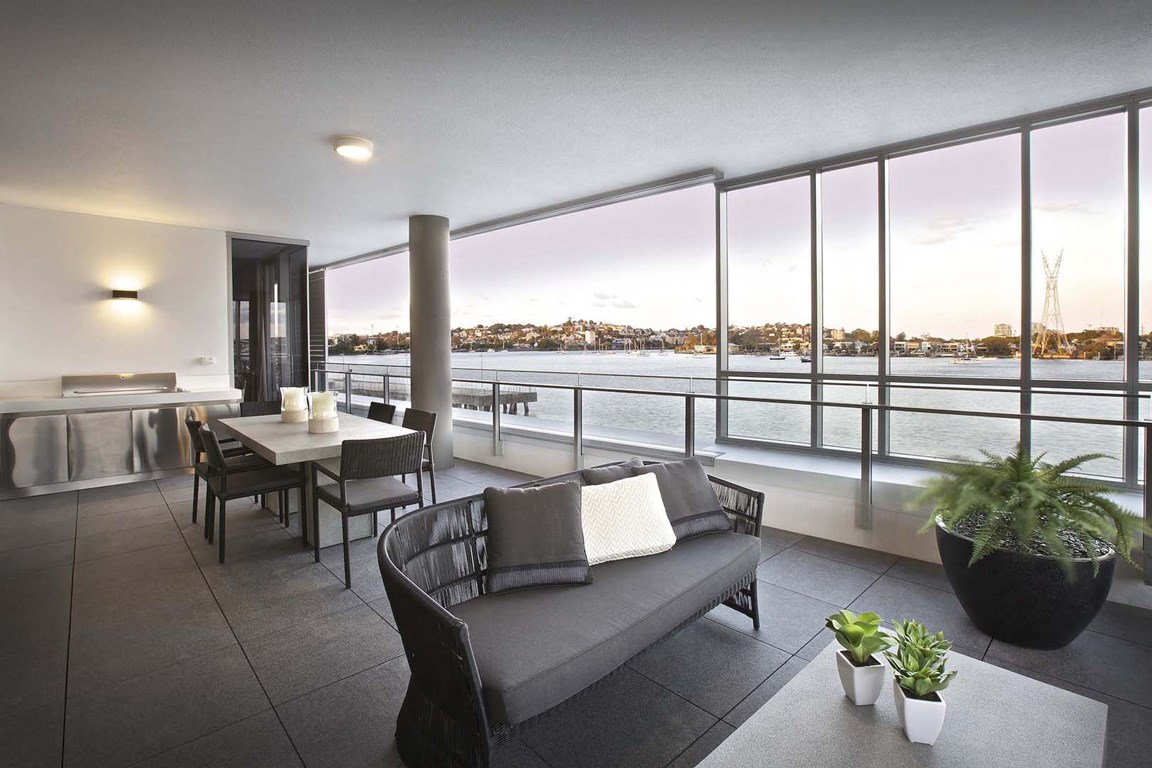 pier at waterfront real estate agency in brisbane city