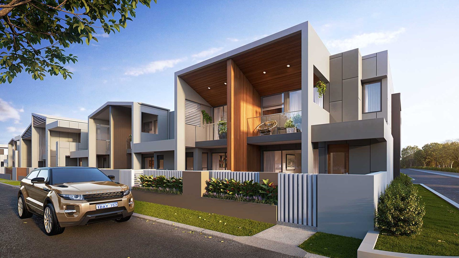 Vue terrace homes in 1 east lane robina qld 4226 for Terrace house 1