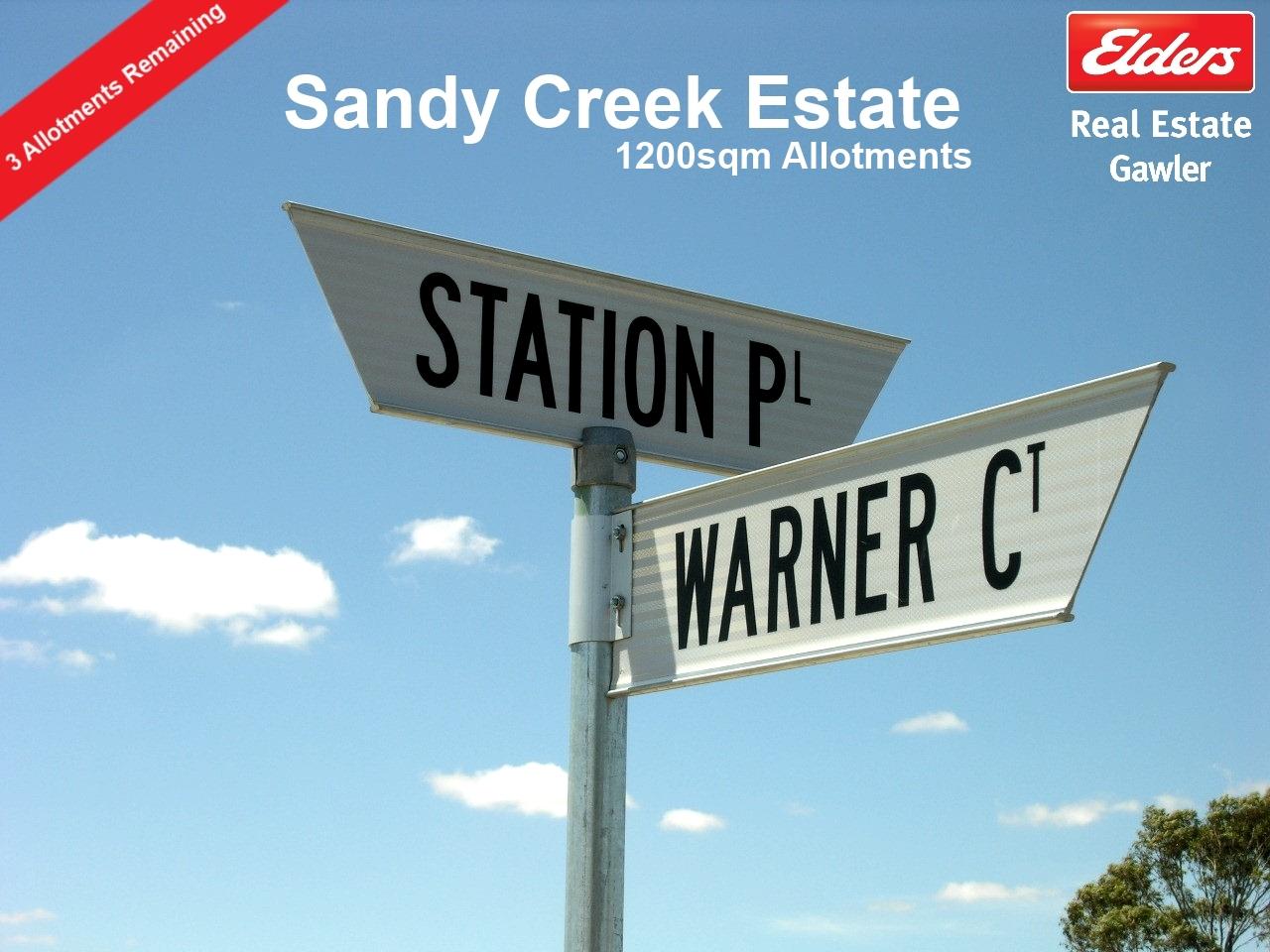 Property Sold Sandy Creek Sa