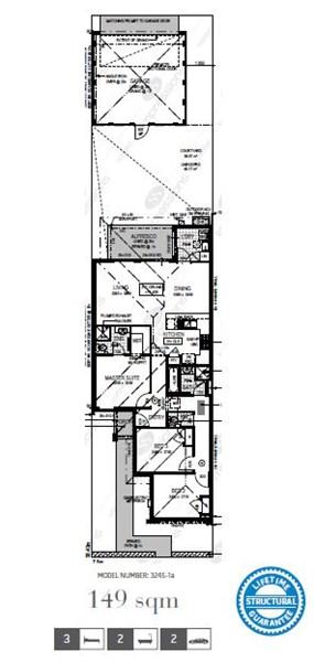 Floorplan for Rivergums Estate Baldivis
