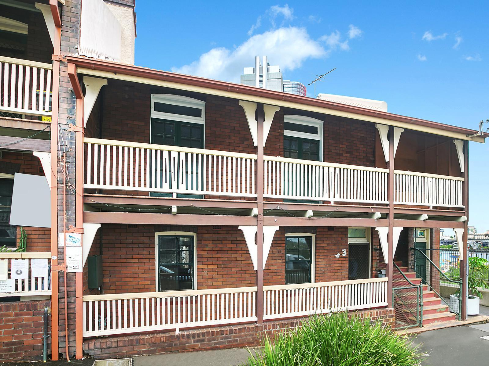 3 and 3A High Street, Millers Point