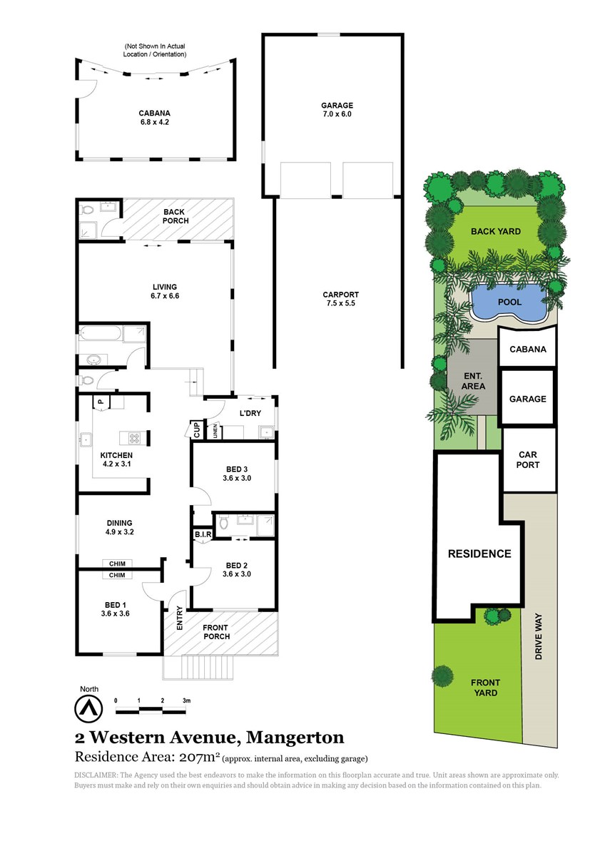2 Western Avenue, Mangerton NSW 2500 Floorplan