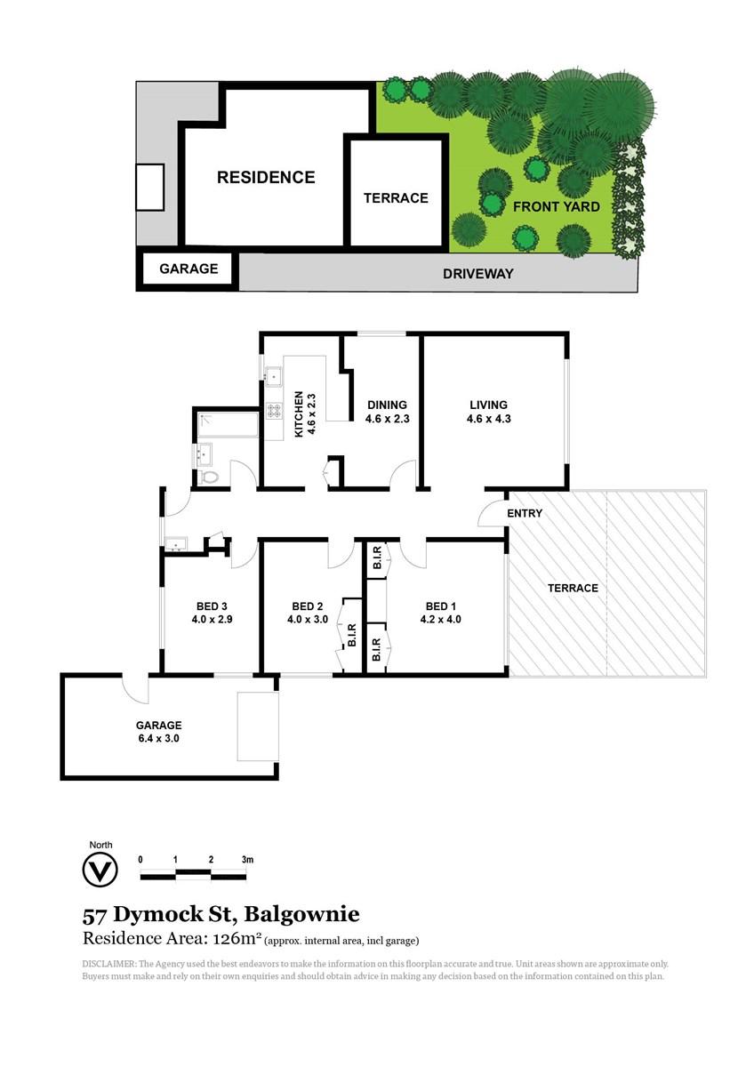 57 Dymock Street, Balgownie NSW 2519 Floorplan