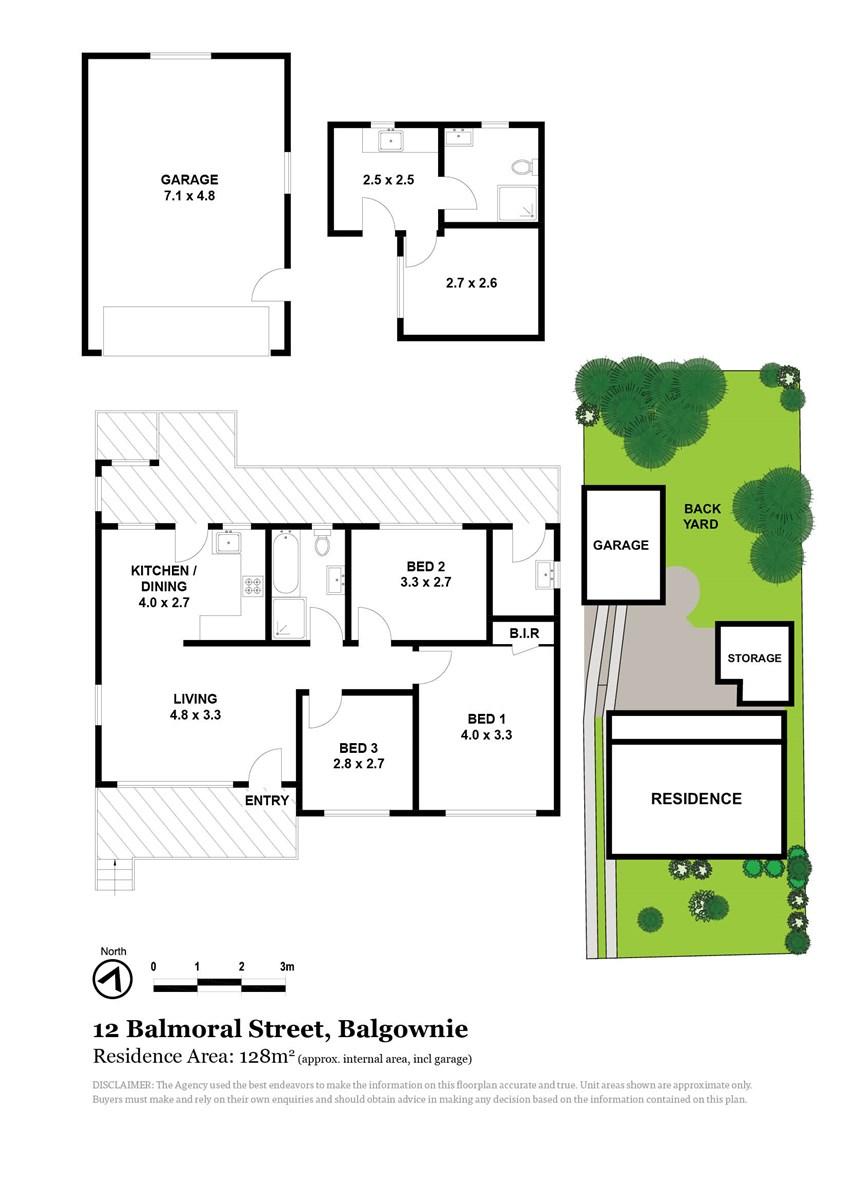 12 Balmoral Street, Balgownie NSW 2519 Floorplan