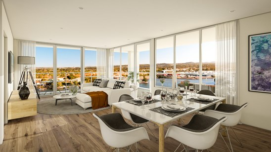 Waterfront 3 Bed Apartments from Just $599,000