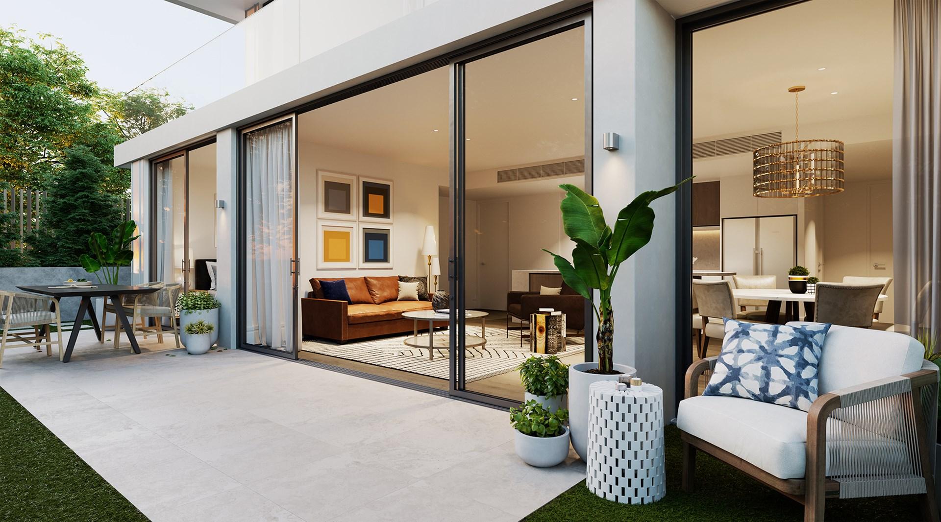 3 Bedroom Garden Apartment with Parking