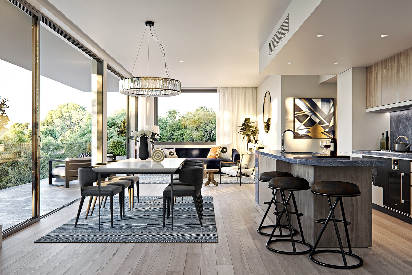 3 Bedroom Penthouse with Parking