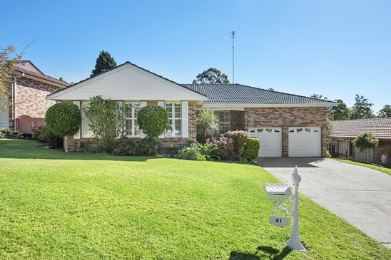41 Macquarie Drive, Cherrybrook