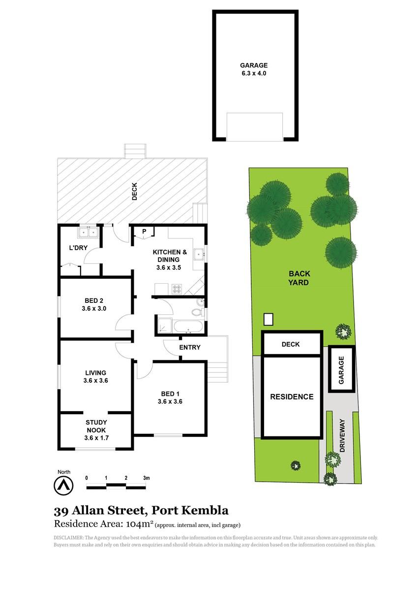 39 Allan Street, Port Kembla NSW 2505 Floorplan