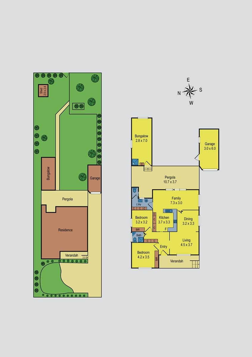 Property Report for 2 Grevillia Road, Oak Park VIC 3046