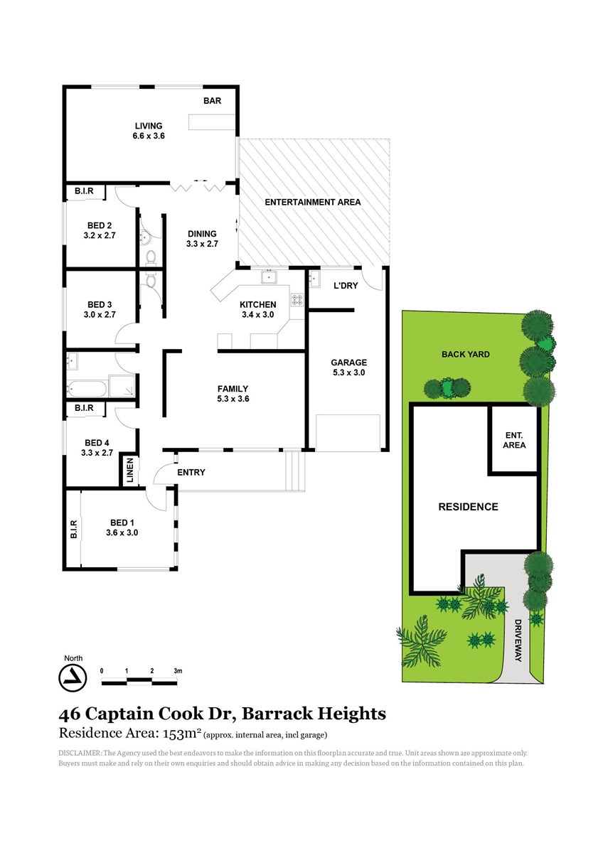 46 Captain Cook Drive, Barrack Heights NSW 2528 Floorplan