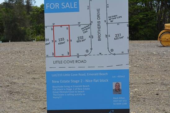 Lot 233 Little Cove Road, Emerald Beach
