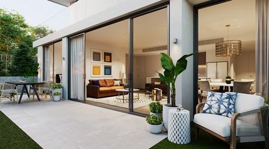 2 Bedroom Garden Apartment