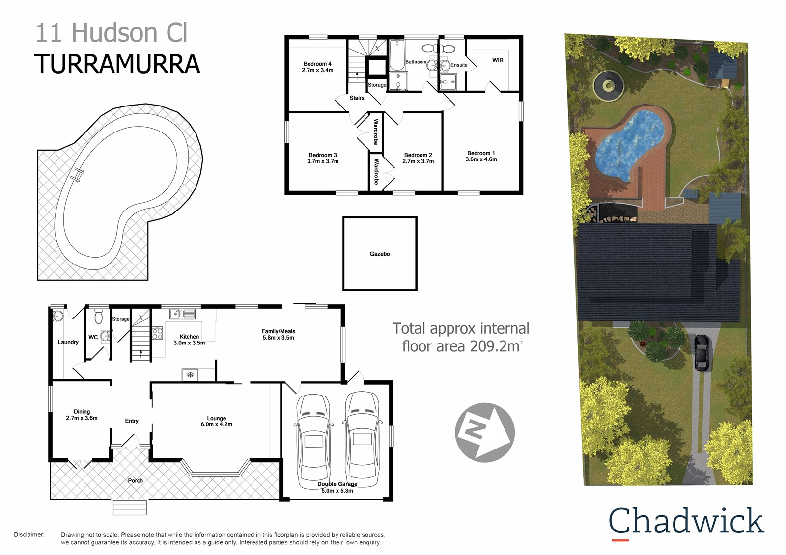 Property Report For 11 Hudson Close South Turramurra NSW 2074