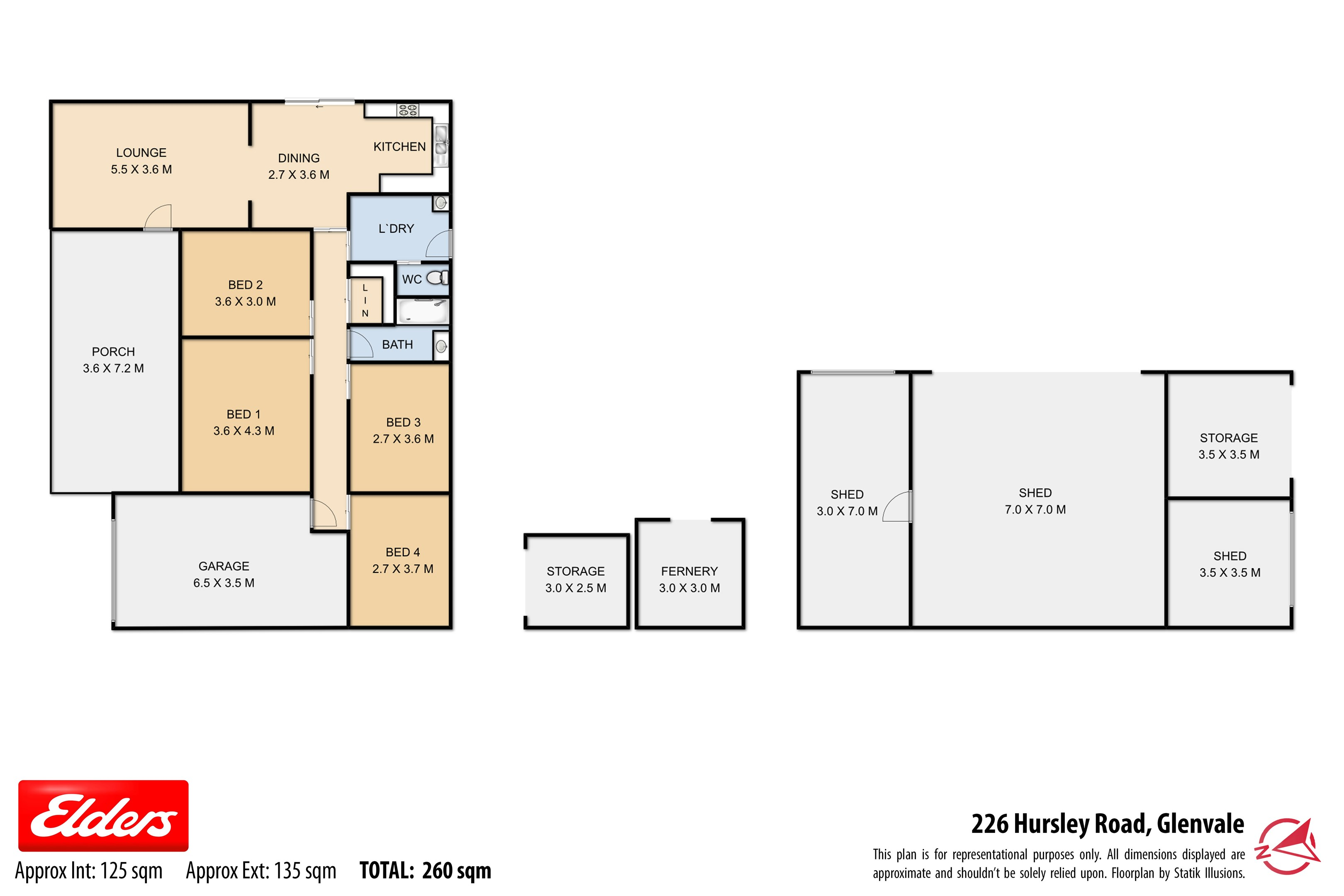 Property Report for 226-232 Hursley Road, Glenvale QLD 4350