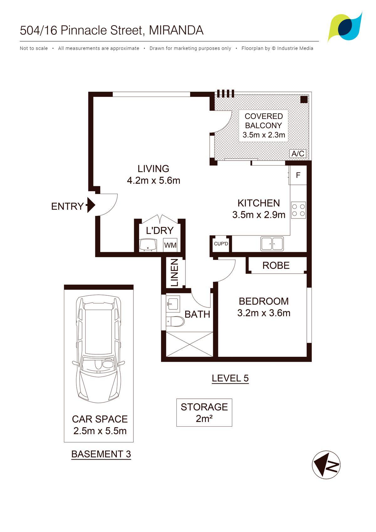 Property Report for 504/16 Pinnacle Street, Miranda NSW 2228