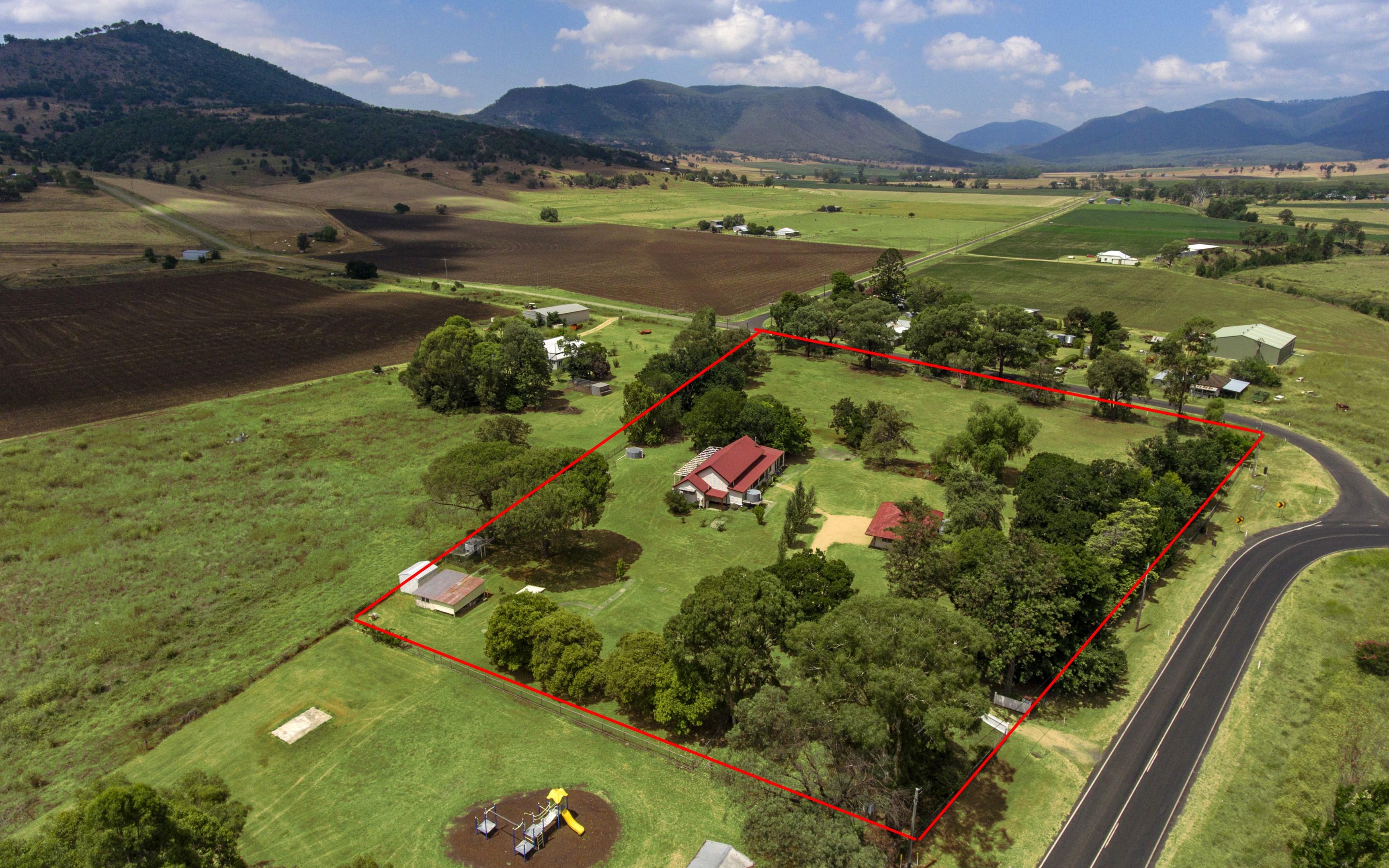 Map Australia 4371.493 Yangan Killarney Rd Emu Vale Qld 4371 House For Sale 598 000