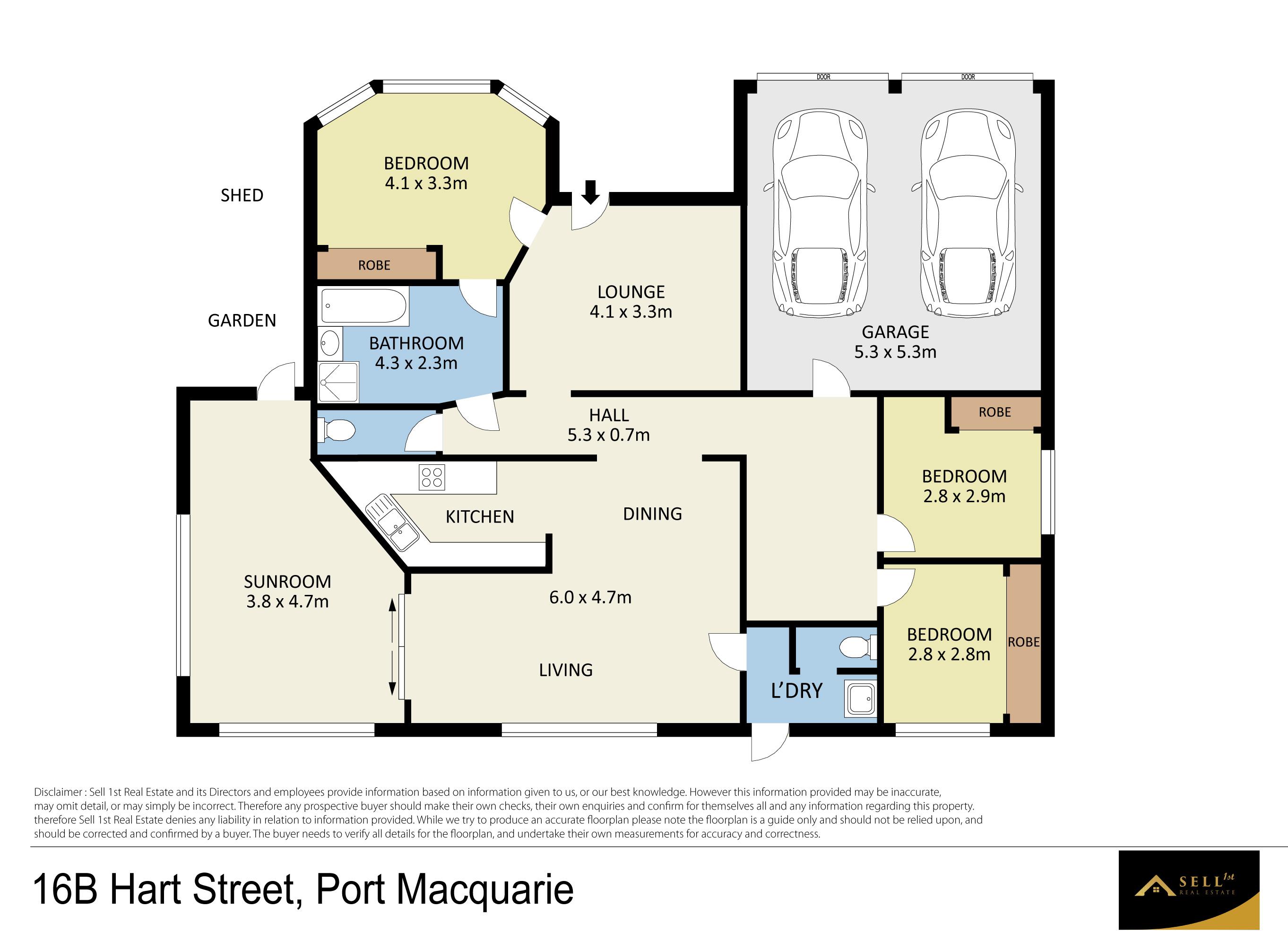 Property Report for 16b Hart Street, Port Macquarie NSW 2444
