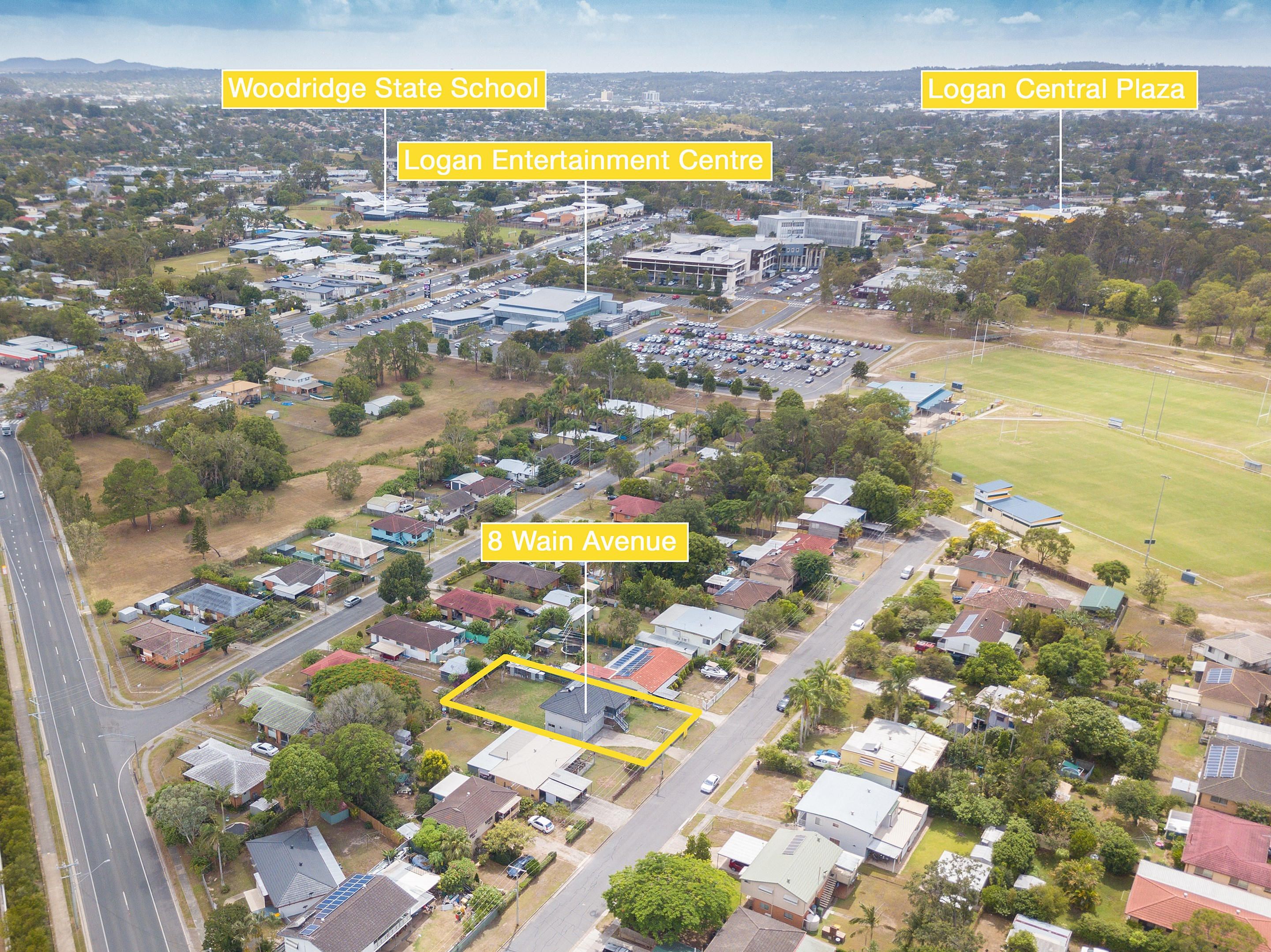 Property Report for 8 Wain Avenue, Logan Central QLD 4114
