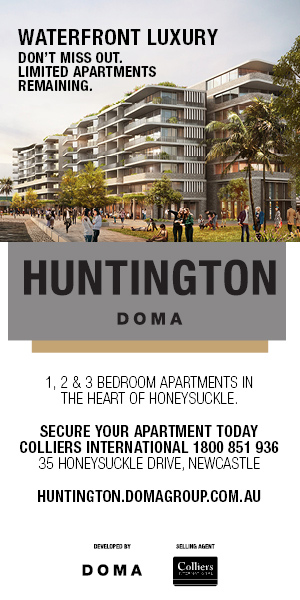 Huntington in 35 Honeysuckle Drive, Newcastle, NSW 2300