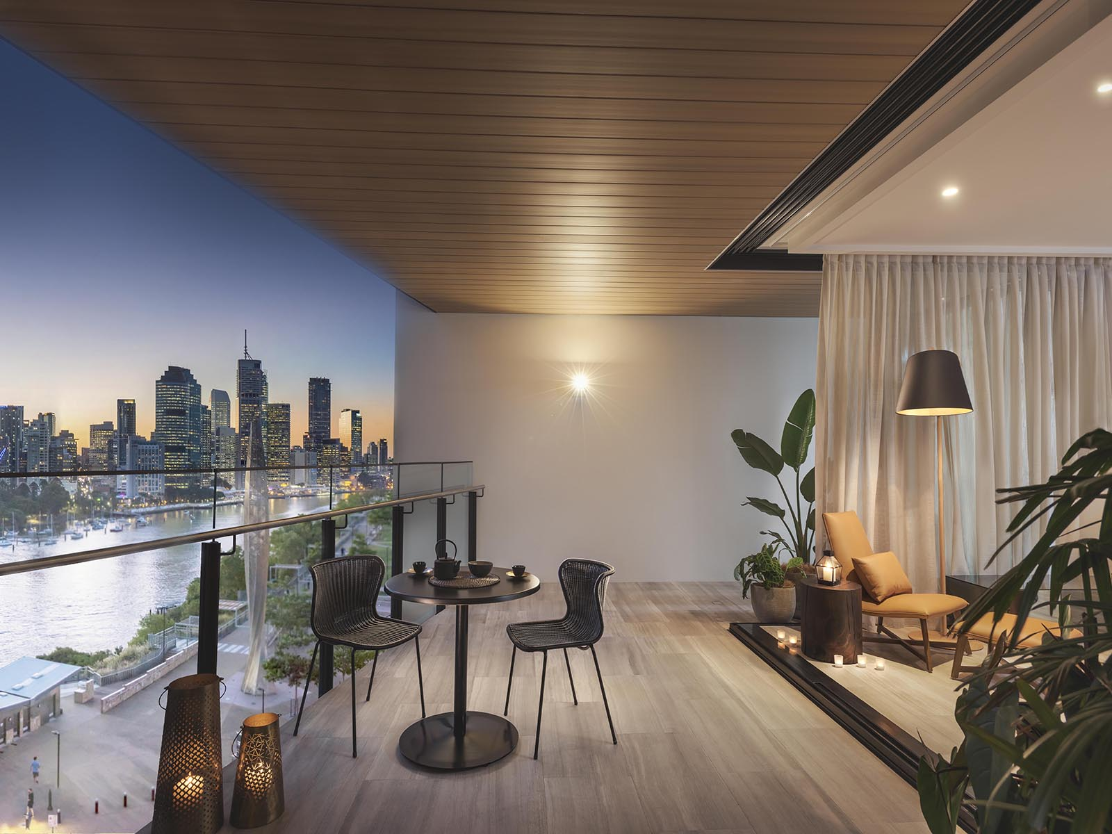 Banyantree residences brisbane in 8 river terrace for 22 river terrace apartments