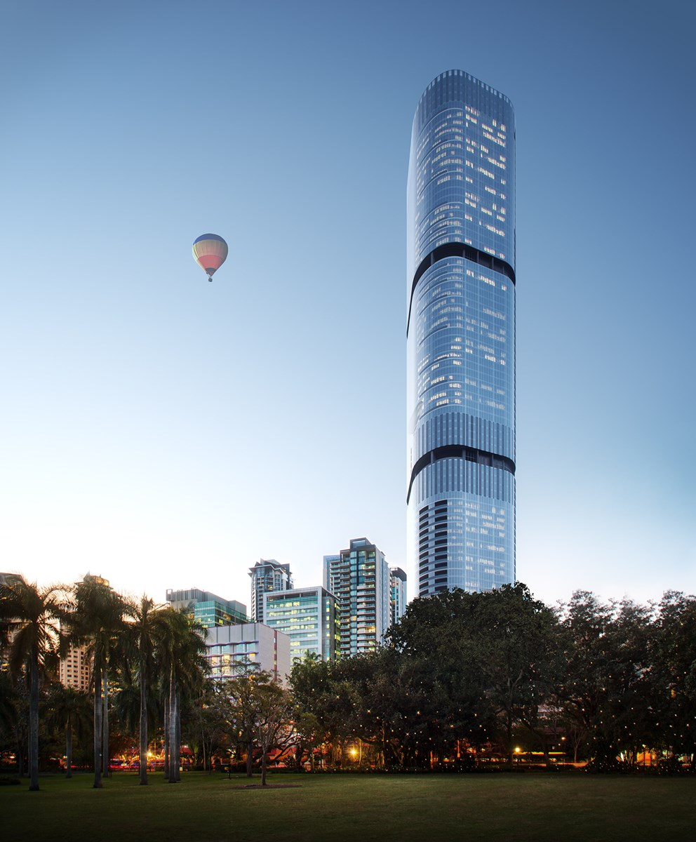 Brisbane Skytower In 222 Margaret Street City
