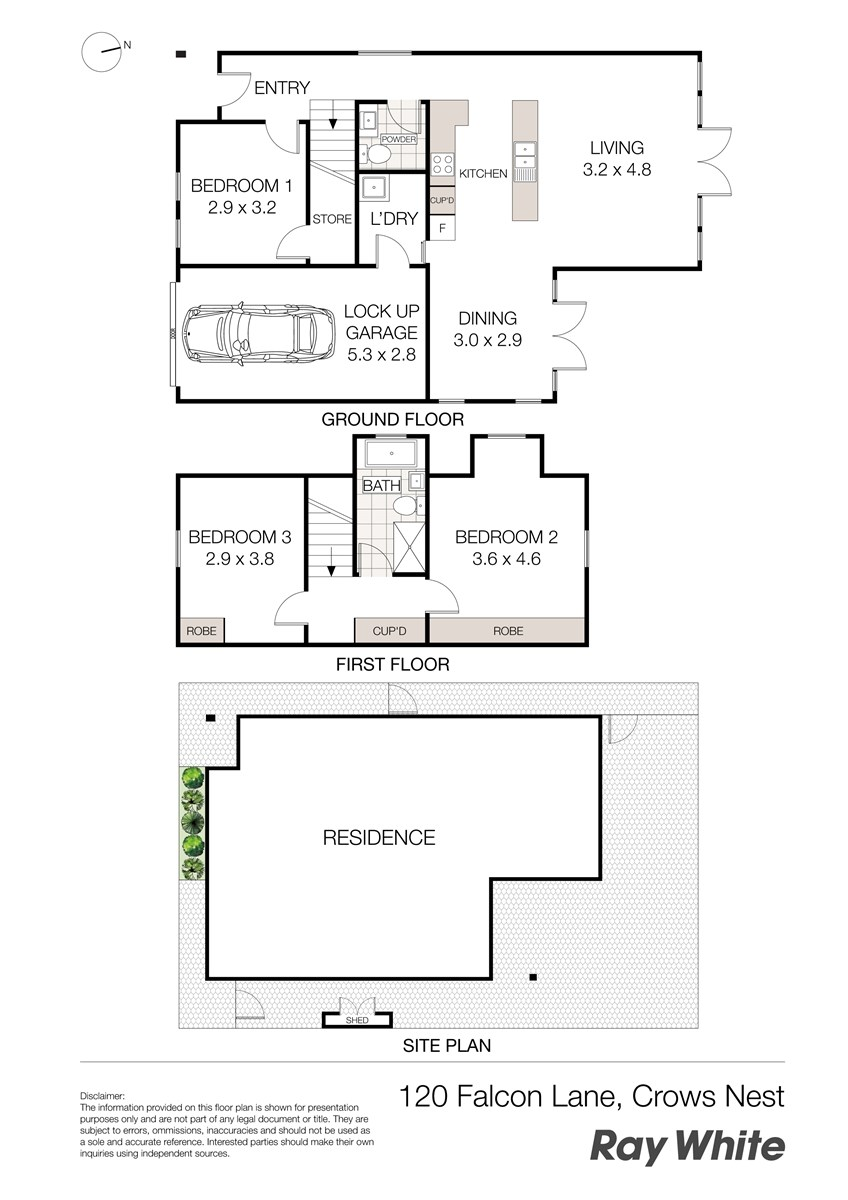 120 falcon lane crows nest nsw 2065 house for sale for Crows nest house plans