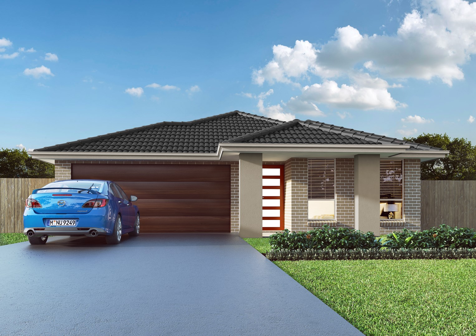 Lot 721s raewyn crescent schofields nsw 2762 off the for Single level home designs nsw