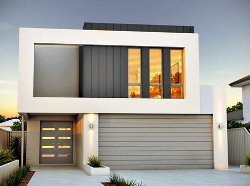 Success off the plan house 2012785160 for 9m frontage home designs