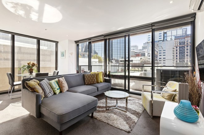 Picture of 702/7 Katherine Place, Melbourne