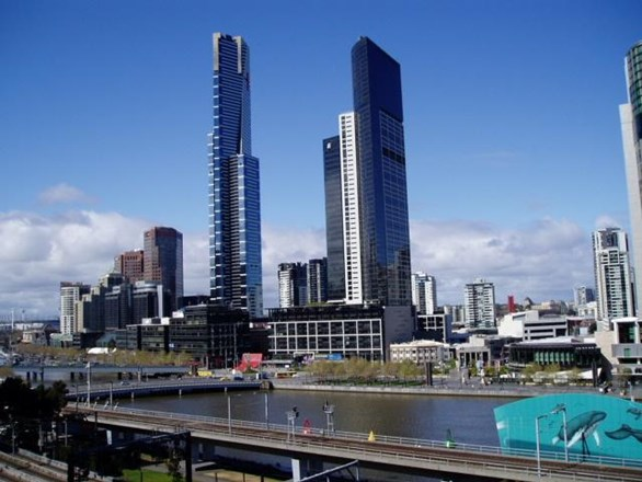 Picture of 702/500 Flinders Street, Melbourne