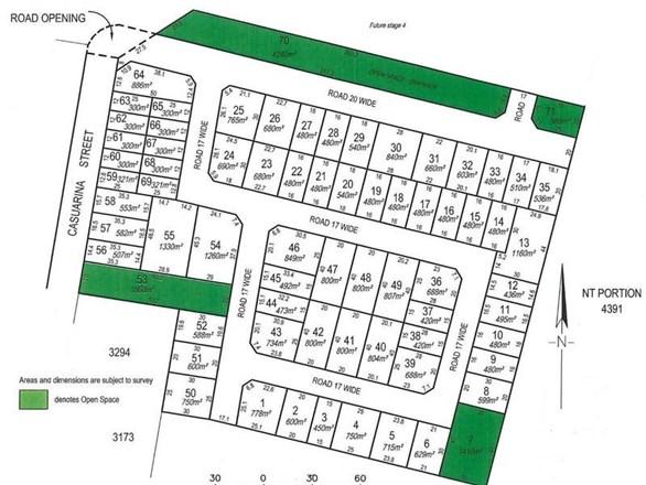 Picture of Lot 3414 (Block 23) Casuarina Park, Katherine