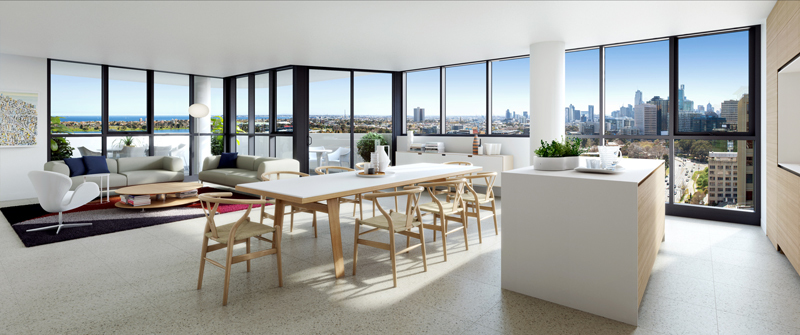 Main photo of Penthouse/12 Queens Road, Melbourne 3004 - More Details